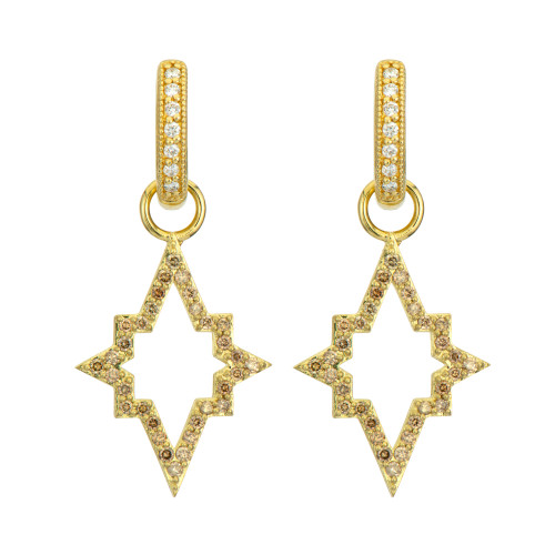 18KT Moroccan Starburst Earring Charms