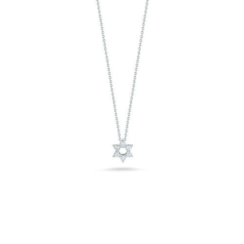18KT Star of David Necklace