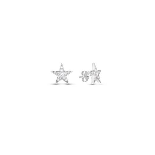 18KT Diamond Star Earrings