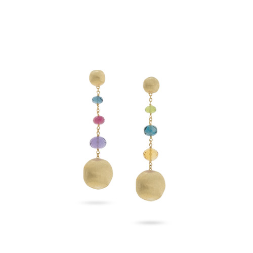 Africa Color Dangle Earrings