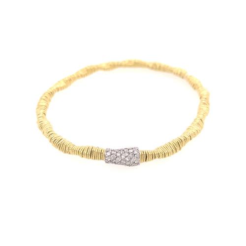 Joy Twist Stretch Bracelet