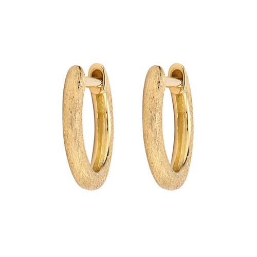 Plain Delicate Hoop Earrings