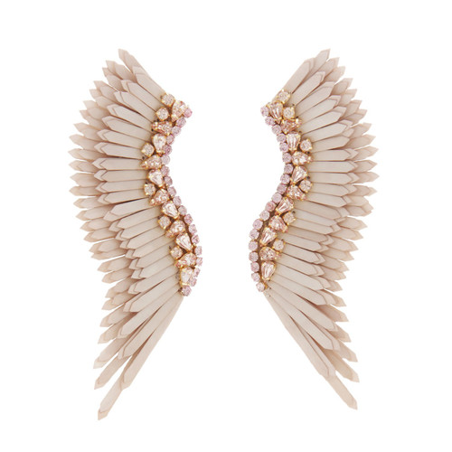 Mega Madeline Earrings in Nude