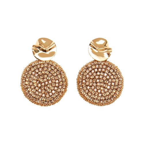 Kaya Round Earrings