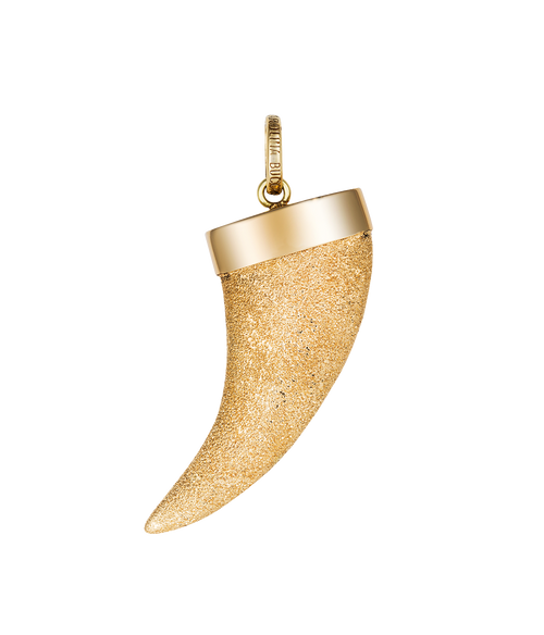 Sparkly Horn Pendant
