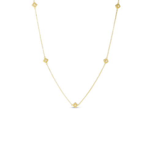 Palazzo Ducale 5 Station Necklace