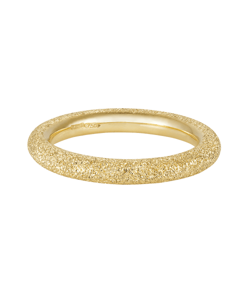 Florentine Finish Thick Ring