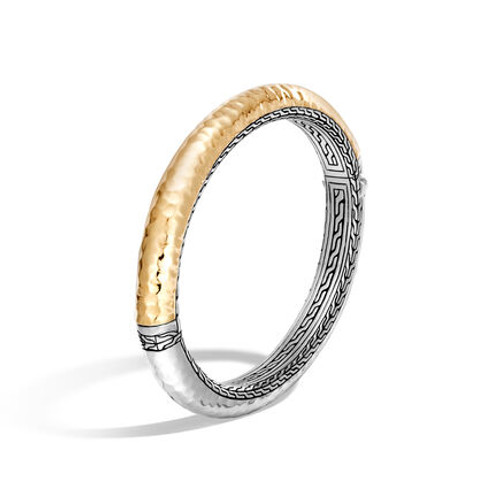 Chain 8.5mm Hinged Bangle