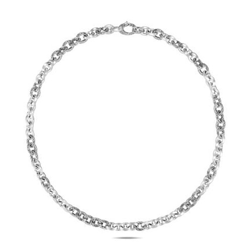Knife Edge 8.1mm Link Necklace