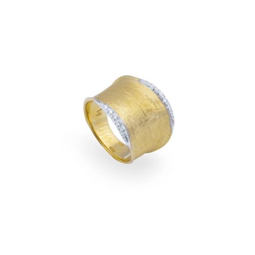 Lunaria Pave Medium Ring