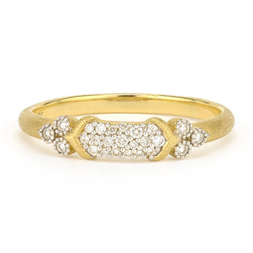 Moroccan Marrakesh Simple Pave Band
