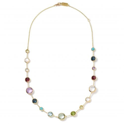 Lollitini Short Multistone Necklace