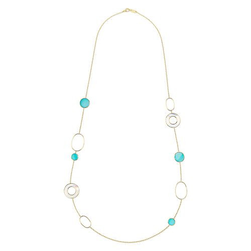 Mixed Link & Slice Necklace