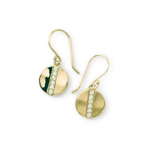 Stardust Small Disc Earrings