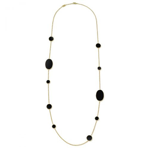 Mixed Stone Onyx Necklace