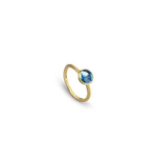 Blue Topaz Jaipur Ring