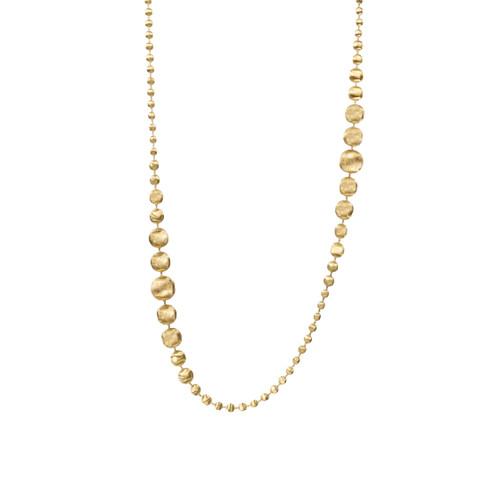 Degrade Satin Beads Necklace