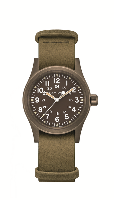 Khaki Field Mechanical Dark Dial