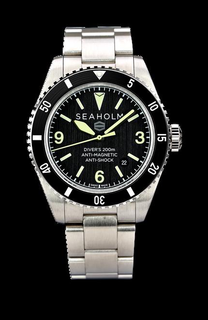Midnight Black Offshore Dive Watch