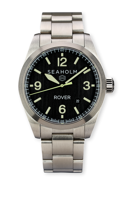 Black Dial Rover Field Watch