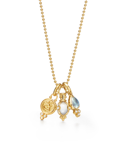 18KT Classic Charm Necklace