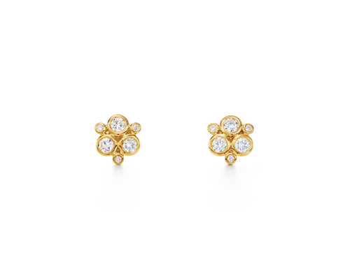 18KT Classic Trio Earring