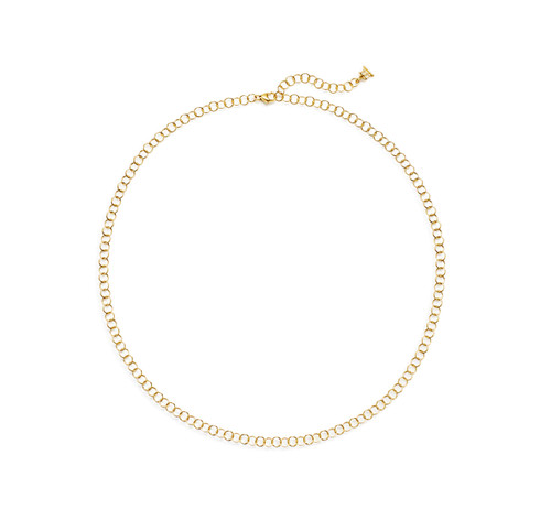 18KT Small Round Chain
