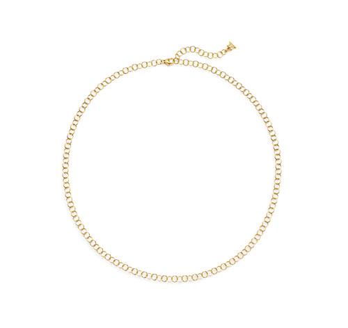 18KT Small Round Chain