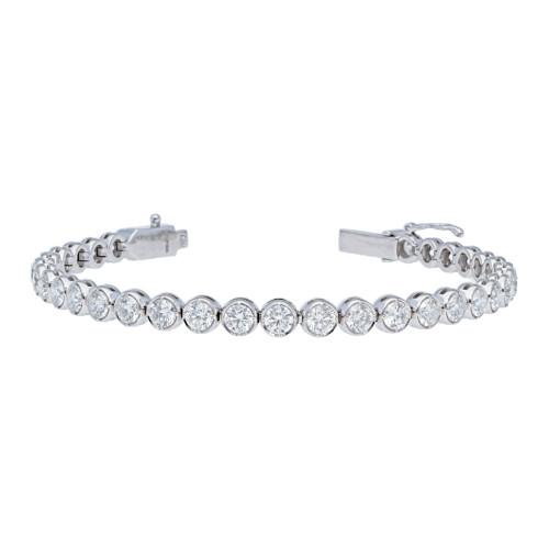 6.85 ct Diamond Tennis Bracelet