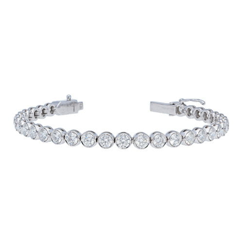 6.85 ct Diamond Tennis Bracelet