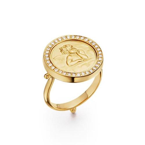18KT Angel Ring