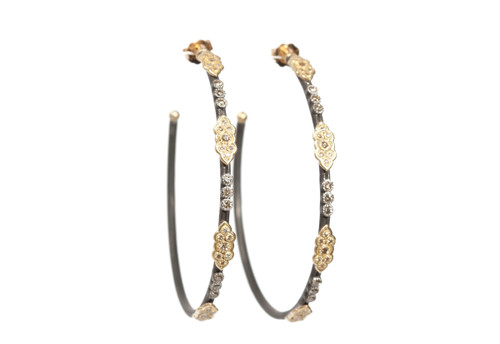 Old World 52mm Hoop Earrings