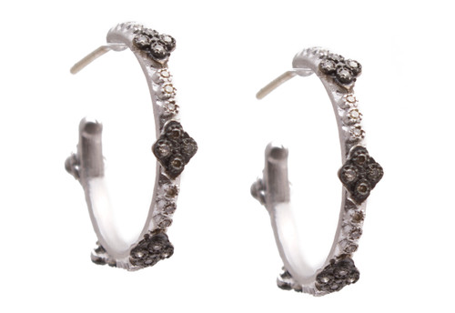 New World 16.5mm Hoop Earrings