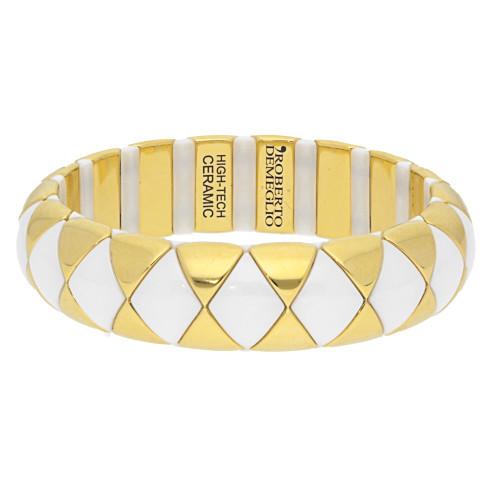 White Aura Diva Stretch Bracelet