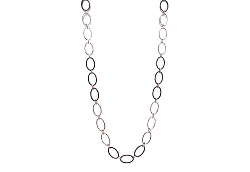 New World Large Oval Link Necklace