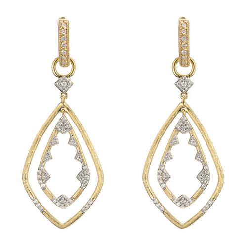 Lisse Double Drop Diamond Earring Charms