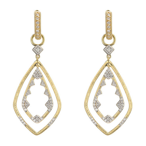 Lisse Double Drop Diamond Earring Charms