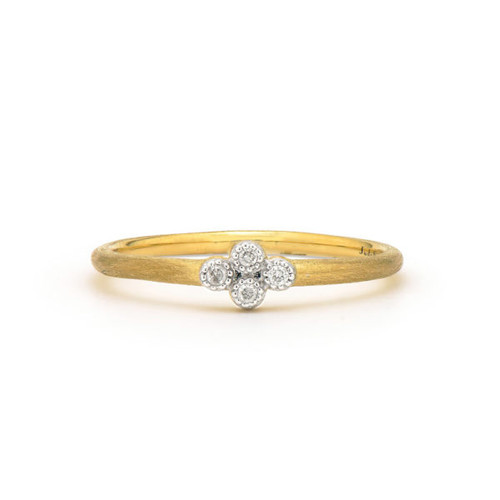 Petite Quad Diamond Ring