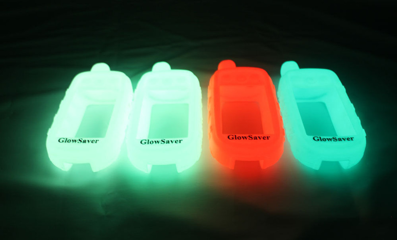 GlowSaver Case for Garmin Astro 320//430 with Screen Protectors