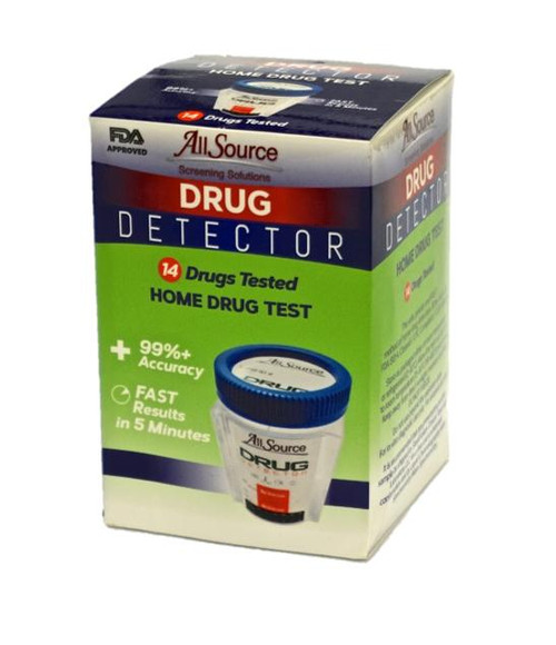 14 Panel At-Home Drug Detector Urine Drug Test w/ FREE Lab Confirmation