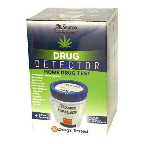 12 Panel At-Home Drug Detector Urine Drug Test w/ FREE Lab Confirmation