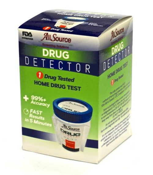 Marijuana At-Home Drug Detector Urine Drug Test (W/ FREE Lab)