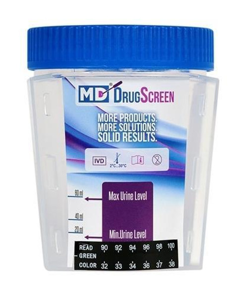 10 Panel Urine Cup Drug Test w/ 6 Adulterants (MDC4104AD6)