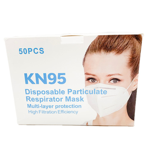 KN95 Respirator Mask (Box of 50) - FDA Registered
