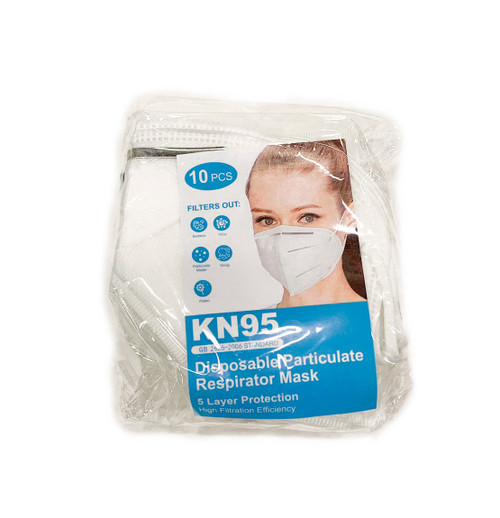 KN95 Respirator Mask (Pack of 10) - FDA Registered