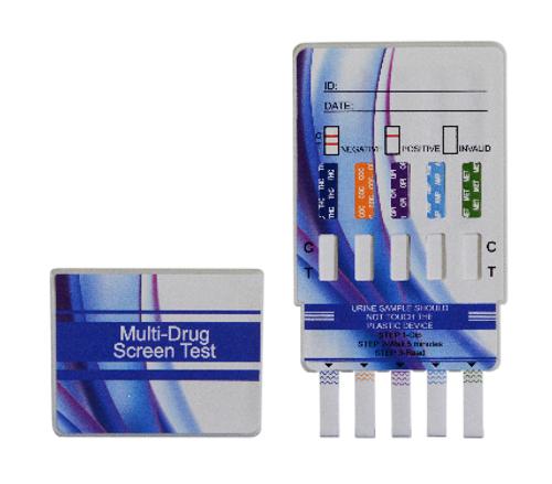 5 Panel Dip Card Drug Test