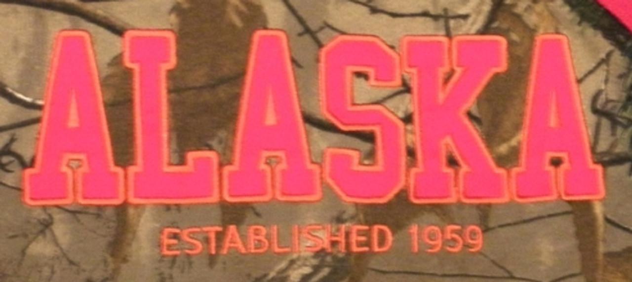 Women/'s alaska HNE 1959 Camo Sweat à capuche Sweat Taille Adulte