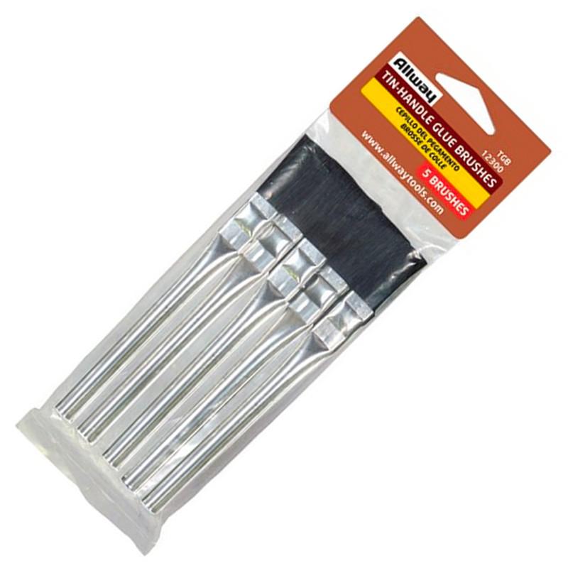 Allway TGB Glue Brushes 5pk