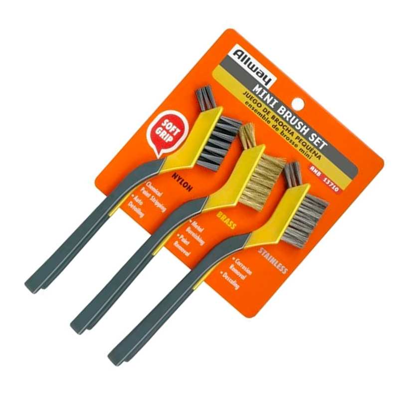Allway AMB Mini Wire Brush Set