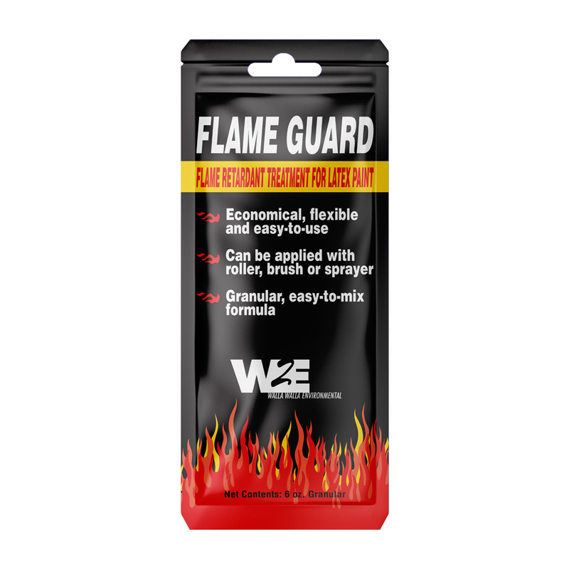 Walla Walla Environmental Flame Guard Fire Retardant Paint Additive